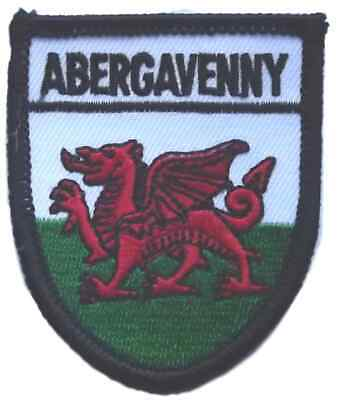 Abergavenny World Embroidered Patch Badge