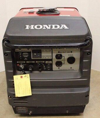 Honda EU3000IS 3000 Watt GAS Powered Quiet Portable Inverter Parallel Generator