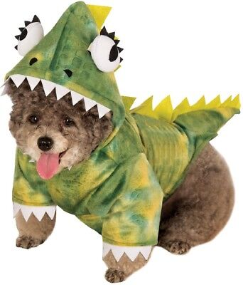 Pet Dog Cat Dinosaur Animal Party Halloween Fancy Dress Costume Outfit Clothes 3