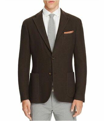 Eleventy Mens Sport Coat Red Size Medium M 50 Slim Fit 2-Button Wool $795- #243