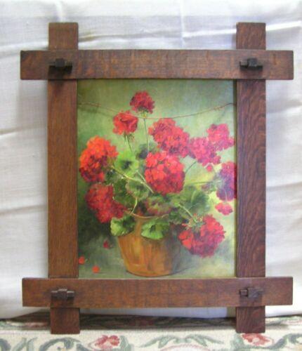 "Arts & Crafts Mission Adirondack Oak Frame for 16"" x 20"" Picture"