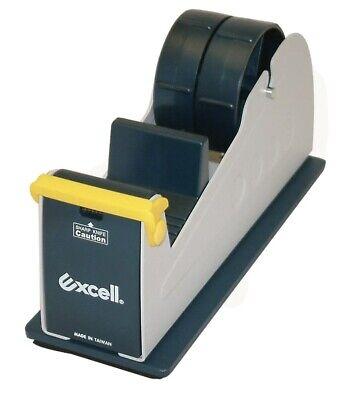 Excell Ex-17 Steel Desk Top Tape Dispenser 2 In Width Padded Non-slip Base
