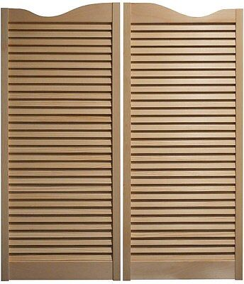 PINE CAFE DOORS Louvered Western Swinging Saloon 30