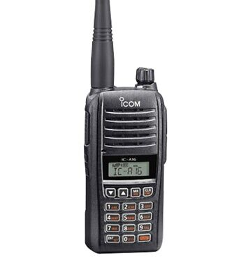 ICOM IC-A16 Series Airband Handheld - Comm Only