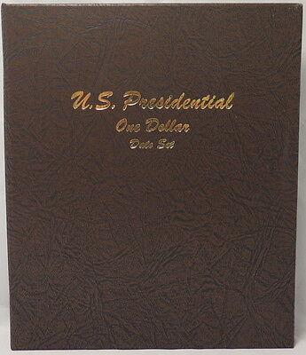 PRESIDENTIAL DOLLARS DATE SET DANSCO COIN ALBUM #7186