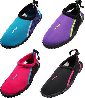 Norty Womens Water Shoes Aqua Socks Surf Yoga Exercise Pool