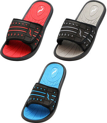NORTY Men's Fashion Beach, Pool, Casual, Shower Adjustable Strap Slide Sandal