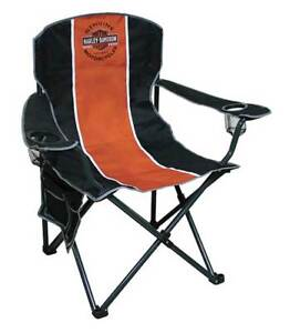 Harley-Davidson Bar & Shield Compact Chair, X-Large Size w/ Carry Bag CH31264