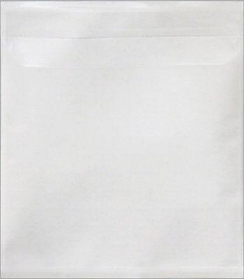 1000 New Vinyl Cd Sleeves Wadhesive Backing V1