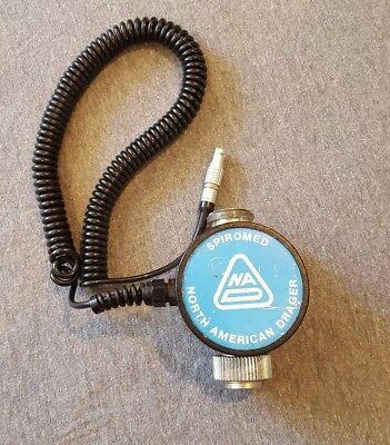 Drager 4106362 Spiromed Electronic Spirometer Sensor Med Equip