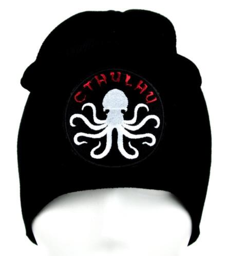 Cthulhu Tentakel Octopus Beanie Alternative Kleidung Strick Kappe hp Lovecraft