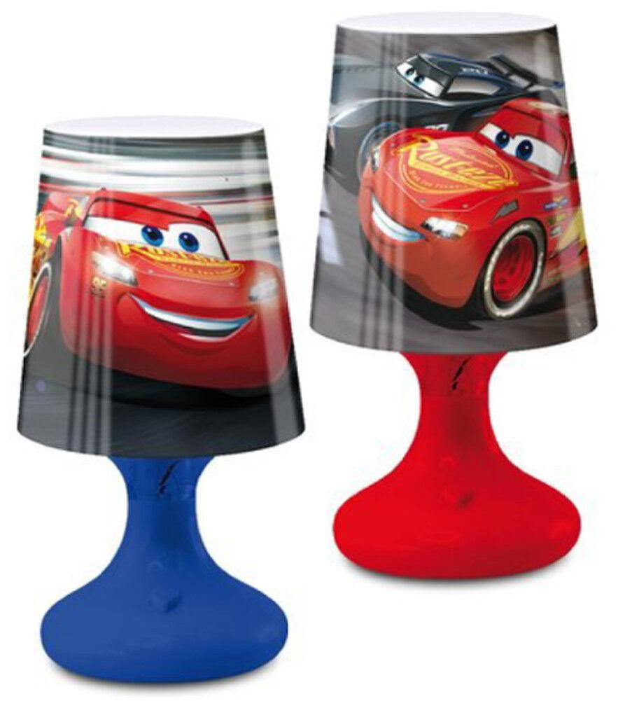 Cars Mc Queen LED Lampe Nachttischlampe Licht Kinderzimmer Deko Kinder Leuchte