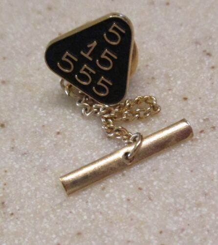 Unusual Walter Hayward WEH Gold Filled Mysterious Secret Society? Tie Tack