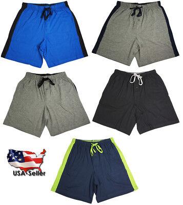 Hanes Mens Comfortsoft Cotton Knit Sleep Lounge Pajama Shorts