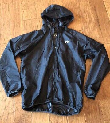 Helly Hansen Training Packable Jacket Black L Windbreaker Women's Ladies