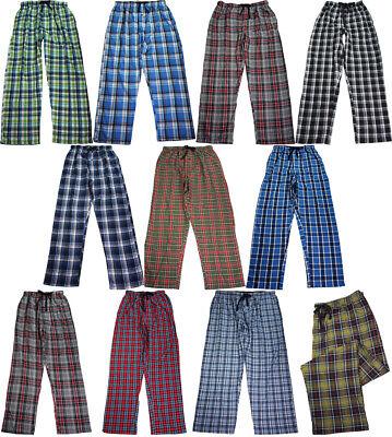 Hanes Men's Cotton Blend Woven Sleep Lounge Pajama Pant