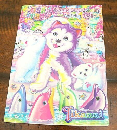New LISA FRANK SUPER COLORING & ACTIVITY BOOK Tikanni Games Fun Learning Art