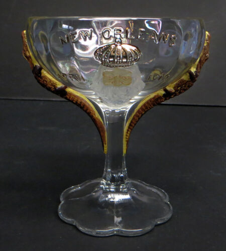 Vintage 1910 Shriners Masonic Goblet New Orleans Convention - Pittsburgh Chapter