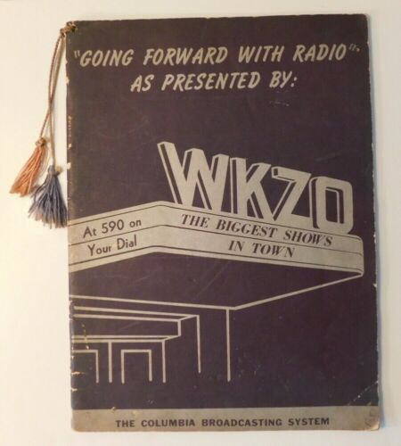 WKZO Radio 590 on your dial Kalamazoo Michigan 1947 Advertising book