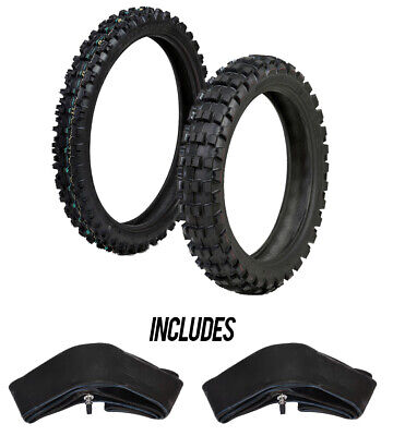 ProTrax Offroad Front 80/100-21 & Rear 110/100-18 Tire & Tubes Combo -