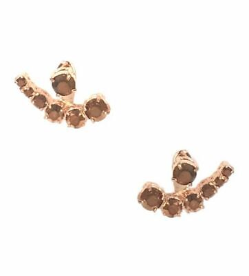 KATE SPADE EARRINGS! Dainty Sparklers Ear Jacket in ROSE GOLD! NWT/Dustbag :)
