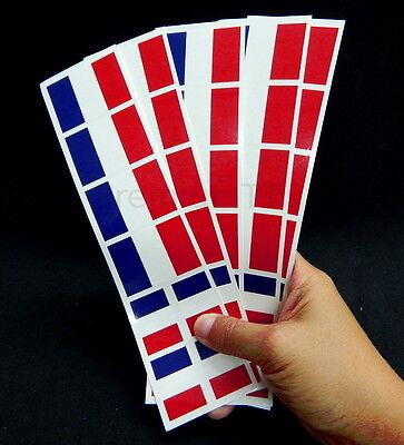 French Party Favors (40 Tattoos: French, France Flag, Party)