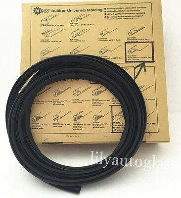 Flexline Windshield Auto Glass Universal Molding Flexible Trim Rubber 26mm 15FT