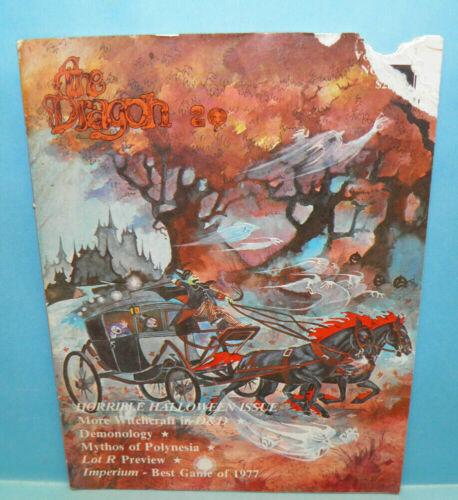 D&D THE DRAGON Magazine #20 Vol 3 No 5 Nov 1978 D&D