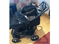 Mothercare Trenton Deluxe Complete Pram and Pushchair Travel System with car seat