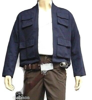 Star Wars Han Solo ESB Empire Strikes Back style JACKET only costume](Star Wars Costumes Han Solo)