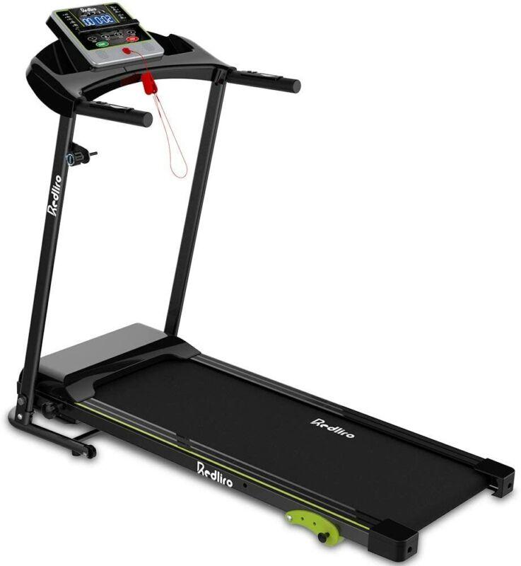 Treadmill 2.25 HP Electric Motorized Power Folding Running Machine Home Gym LCD