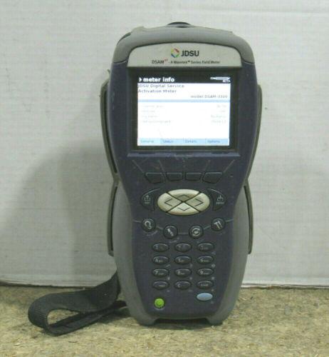 JDSU Wavetek Series DSAM-3300 XT Docsis 3.0 Digital Service Analysis Field Meter
