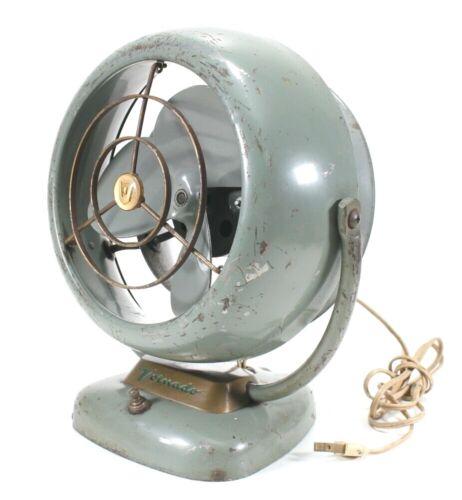 """Vintage Mid-Century Vornado D16C1 D Fan 12"""" Tested"""