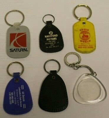 Advertising Key Rings Lot of 5