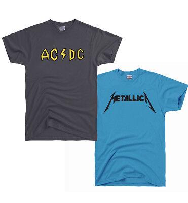 ACDC AC DC and Metallica Shirt Beavis and Butthead Costume Halloween Pick - Beavis And Butthead Halloween