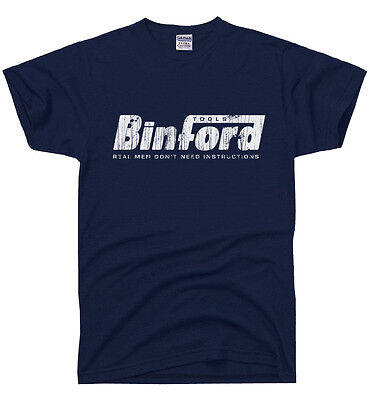 BINFORD TOOLS Funny Home Improvement TEE Tool Time Retro Tim 90s TV -