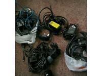 Mix lot of Cables.. connectors..plugs..chargers..etc..etc