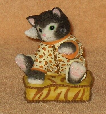 "CALICO KITTENS "" I'VE SPOTTED A COMFY CUSHION "" MIB"