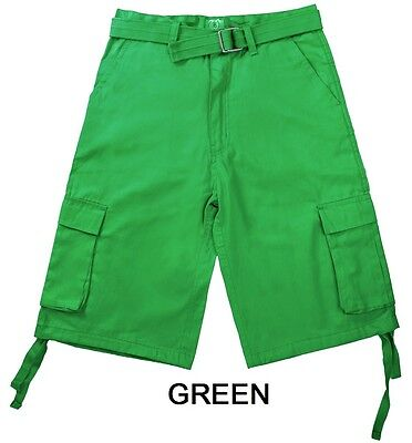 North 15 Mens Cargo Shorts - Assorted Colors & Sizes! Excell