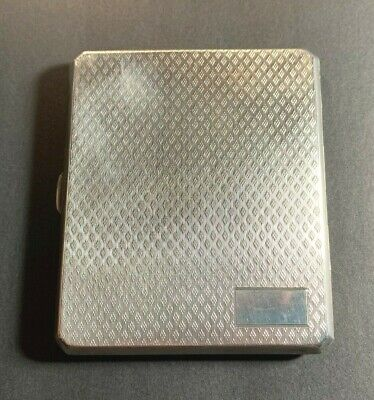Sterling Silver Cigarette Case (M#139)