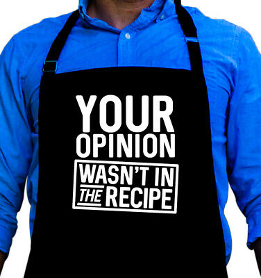 Your Opinion Apron Gift for Husband, Dad, or Grandpa by ApronMen ()