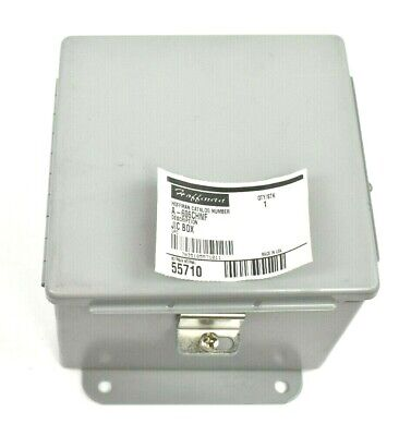 Hoffman A606chnf Hinged Junction Box Enclosure 6 X 6 X 4
