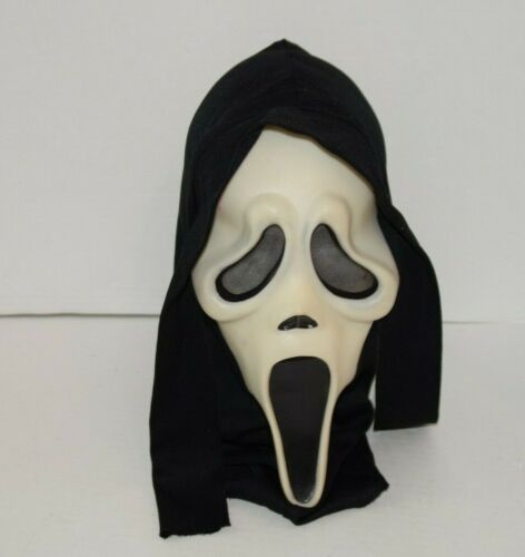 Vintage Easter Unlimited Scream Ghost Face Mask Glows in the Dark