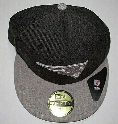 New England Patriots New Era NFL Heather Action 2 Tone 59FIFTY Fitted Hat 7 3/8