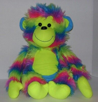 "Peek A Boo Toys 14"" Multi-Color Plush Stuffed Monkey"