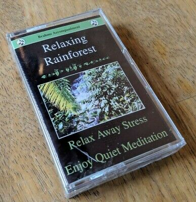 Relaxing Rainforest Cassette - Brahms Accompaniment - BRAND NEW & SEALED