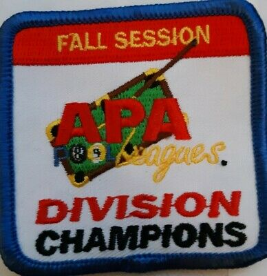 APA 2013 MEMBERSHIP PATCH PATCHES AMERICAN POOLPLAYERS