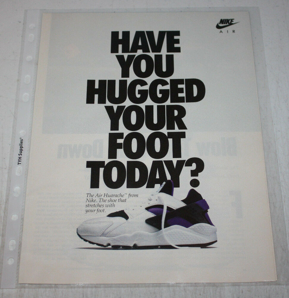 Vintage Nike Air Sneakers Advertising Print Ad Poster 8x10 You Pick Us Polybull Com