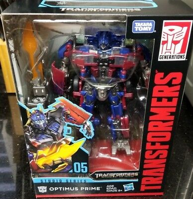 Takara Tomy Transformers Movie Studio Series Voyager Optimus Prime New In Stock