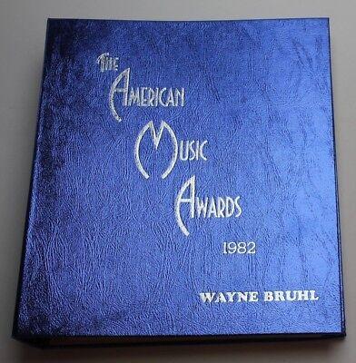 9th American Music Awards / 1982 Production Script, John Lennon & Stevie Wonder